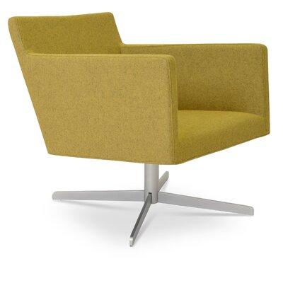 Harput 4 Star Base Armchair Upholstery: Silver