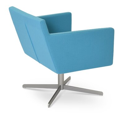 Harput 4 Star Base Armchair Upholstery: Turquoise