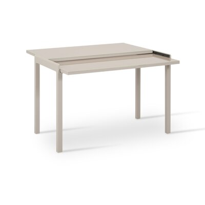 Modern Extendable Dining Table Finish: White