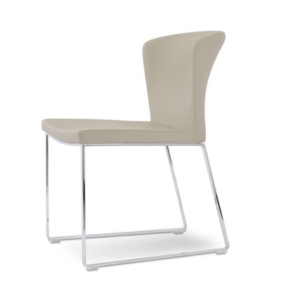 Capri Upholstered Dining Chair Color: Bone