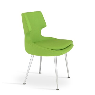 Patara Side Chair Color: Pistachio (Green)
