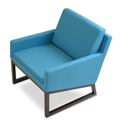 Nova Arm Chair Finish: Turquoise