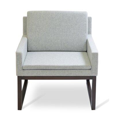 Nova Armchair Upholstery: Silver