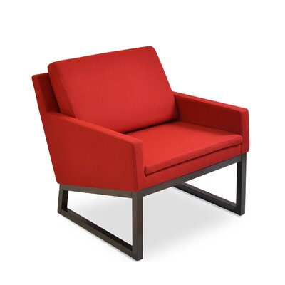 Nova Arm Chair Finish: Red