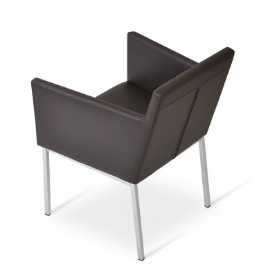 Harput Arm Chair Finish: Black