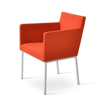 Harput Arm Chair Finish: Orange