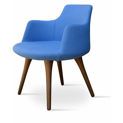 Dervish Arm Chair Upholstery: Blue