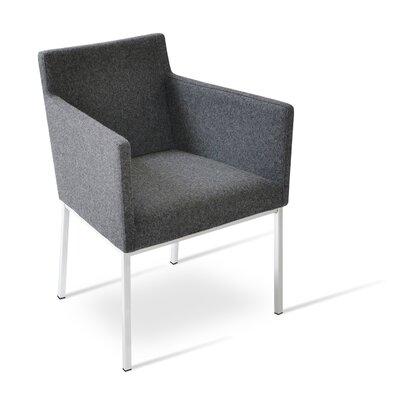 Harput Armchair Upholstery: Dark Grey