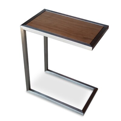 Alfa End Table Color: Walnut