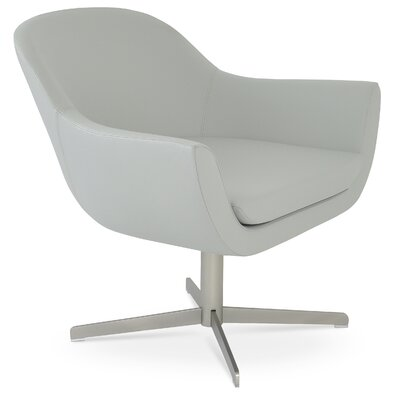 Madison Lounge Chair Upholstery: Light Gray