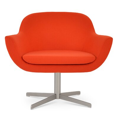 Madison 4 Star Lounge Chair Upholstery: Orange