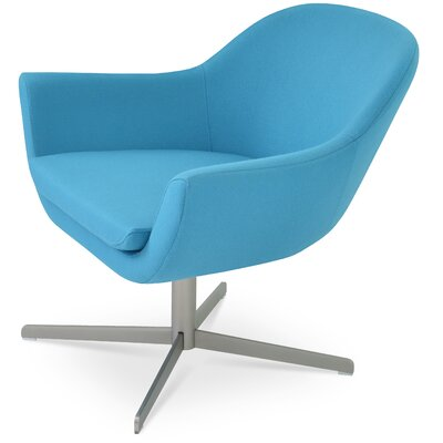 Madison 4 Star Lounge Chair Upholstery: Turquoise