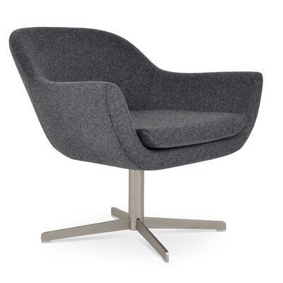 Madison 4 Star Lounge Chair Upholstery: Dark Gray