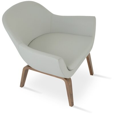 Madison Plywood Armchair Upholstery: Light Gray