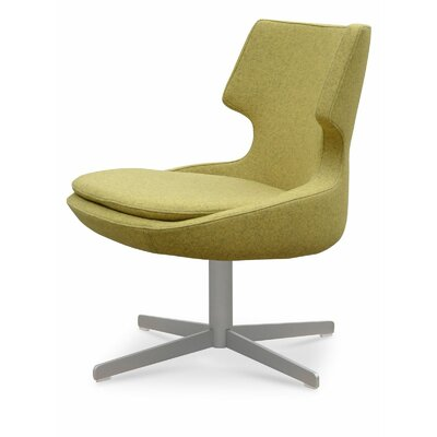 Patara Side Chair Upholstery: Pistachio