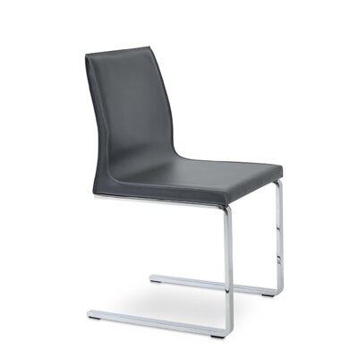 Polo Side Chair Upholstery: Dark Gray