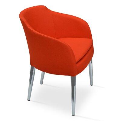 Buca Armchair Upholstery: Maroon