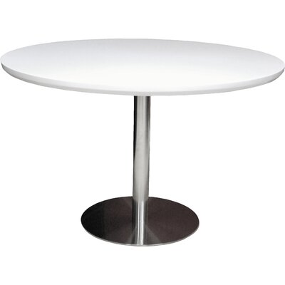 Tango Dining Table Top Finish: White Lacquer
