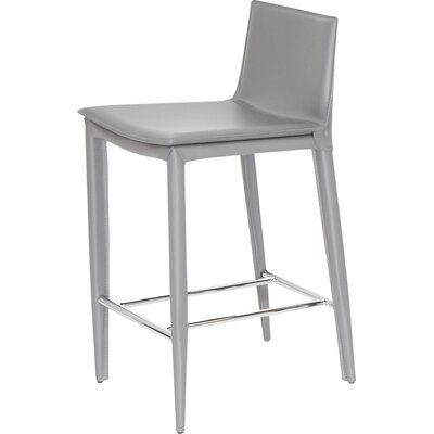 Tiffany 24 Bar Stool Upholstery: Grey