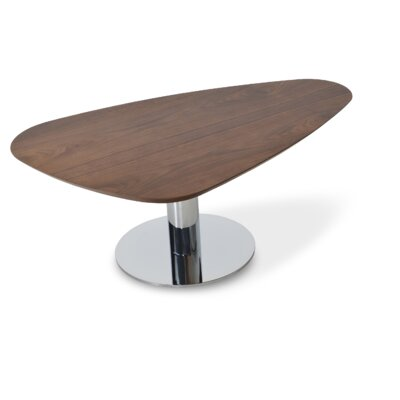Island Coffee Table Color: Walnut