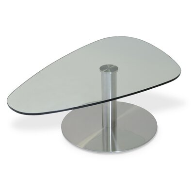 Island Coffee Table Color: Clear Glass