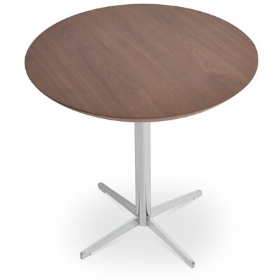 Diana End Table Color: Walnut