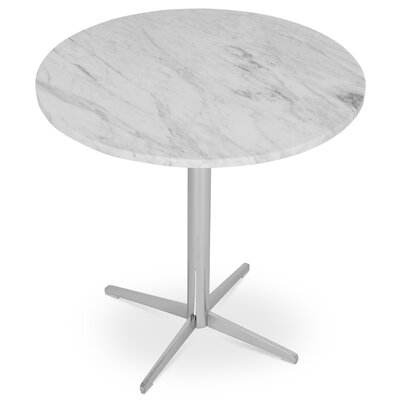Diana End Table Color: White