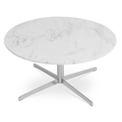 Diana Coffee Table Top Finish: White