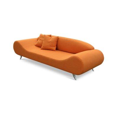 Harmony Sofa Upholstery: Orange Tweed