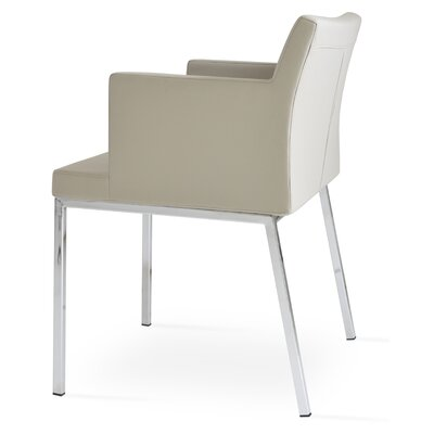 Parma Arm Chair Upholstery Type: PPM  - Bone