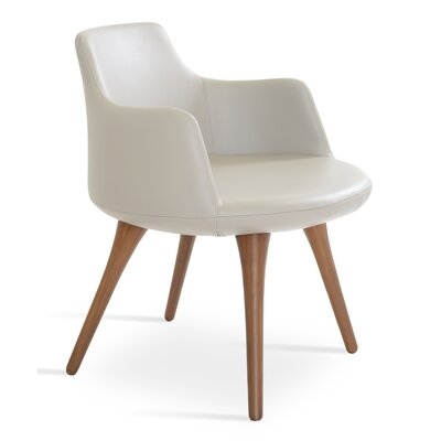 Dervish Arm Chair Upholstery: Bone