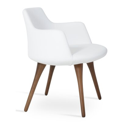 Dervish Arm Chair Upholstery: White