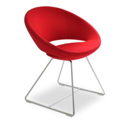 Madrid Chair Upholstery: Red