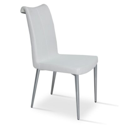 Lale Chair Upholstery Color: White