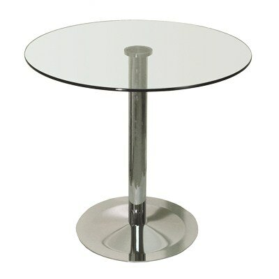 Lady Round Base Dining Table Size: 43