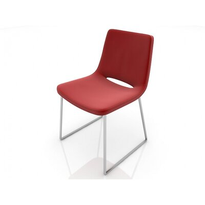 Easy financing Nevada Side Chair Finish: Chrome, C...