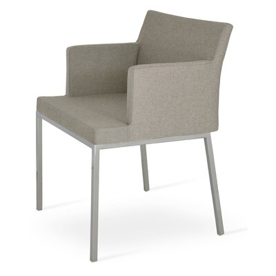 Parma Arm Chair Upholstery Type: PPM - Gray