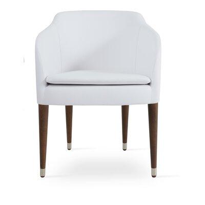 Buca Armchair Upholstery: White