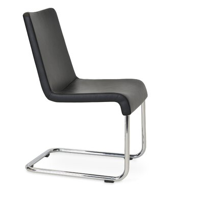 Reis Chair Upholstery Color: Black