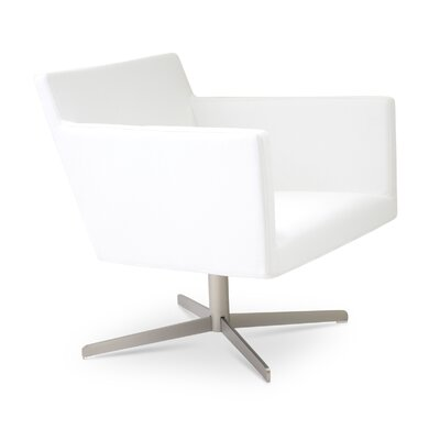 Harput 4 Star Base Armchair Upholstery: White