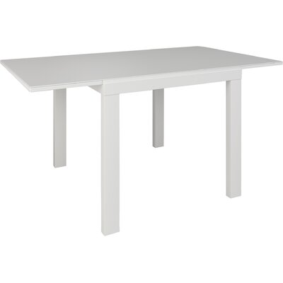Niagara Extendable Dining Table Finish: White