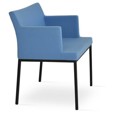 Paris Upholstered Dining Chair Color: Sky Blue