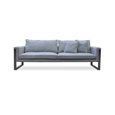 Boston Sofa Upholstery: Dark Gray