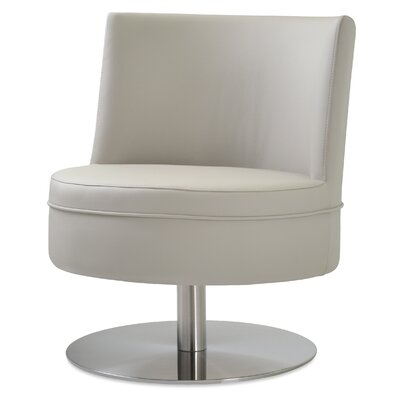 Hilton Swivel Barrel Chair Upholstery: Bone