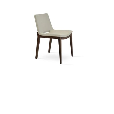 Nevada Upholstered Dining Chair Color: Gray