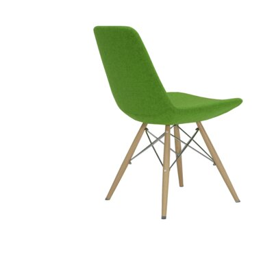 Eiffel Upholstered Dining Chair Color: Turquoise