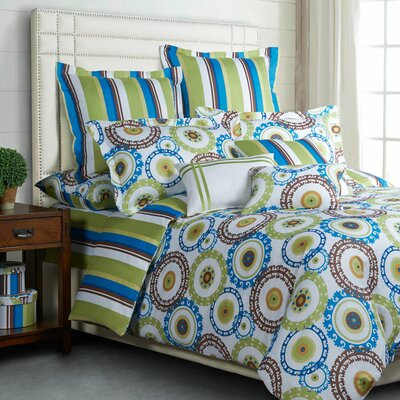 Lena 3 Piece Duvet Set Size: King