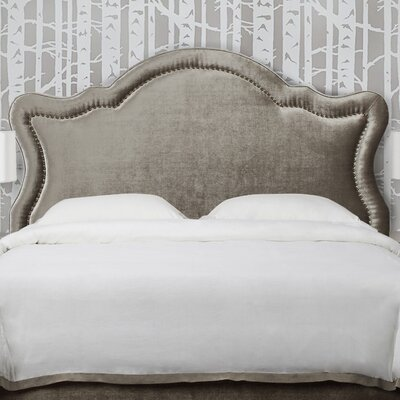 Legacy Upholstered Panel Headboard Size: Queen