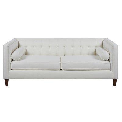 Jack Tuxedo Sofa Upholstery: Star White