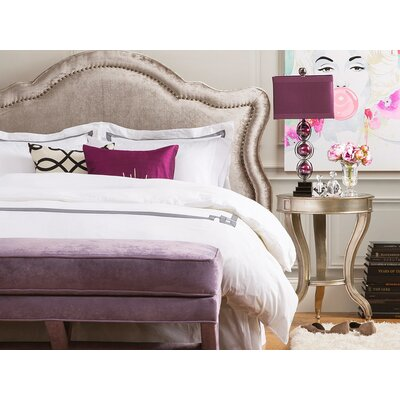 Legacy Upholstered Panel Headboard Size: King